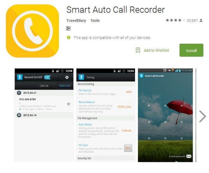 Smart-Auto-Call-Recorder-Android-Apps