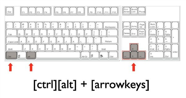 Shortcut-Key-To-Rotate-Flip-The-Screen-in-Windows